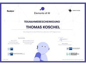 The Elements of AI – Recap